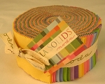 Moda Bella Solids Jelly Rolls, 30's collection