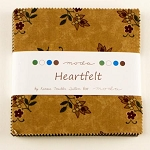 Heartfelt Charm Pack, Kansas Troubles, Moda Fabric