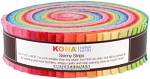 Kona Cotton Skinny Strips, Solids Bright