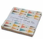 Corner of 5th and Fun Charm Pack, Sandy Gervais for Moda (Plain weave)