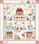 Cottontail Cottage Kit, Bunny Hill Designs