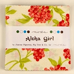 Aloha Girl Charm Pack, Fig Tree for Moda