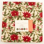 Under the Mistletoe Layer Cakes, by 3 Sisters for Moda Fabric