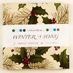 Winters Song Charm Pack by Holly Taylor, Moda Fabric